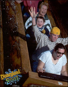 Me at Splash mountain, Disneyland